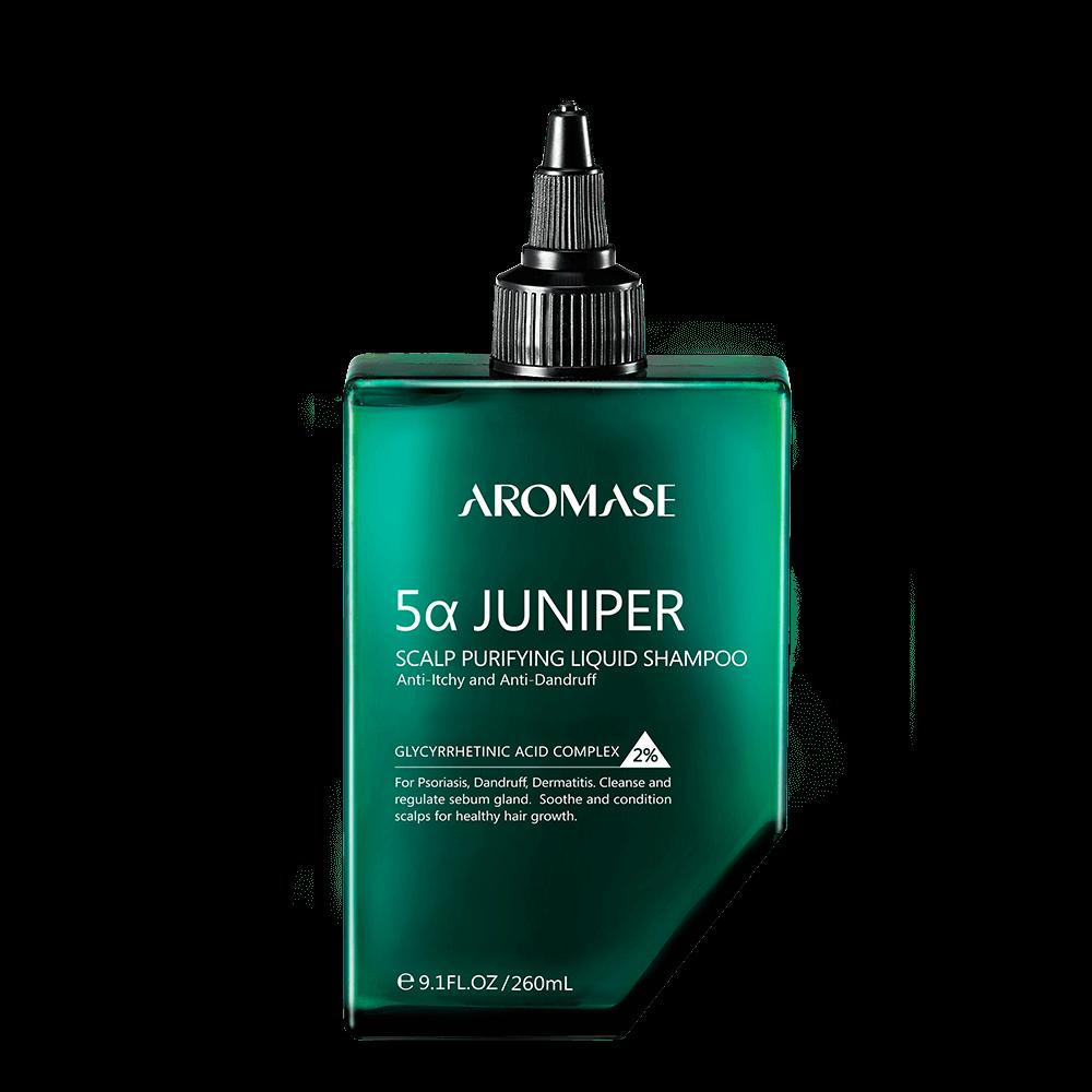AROMASE 5α Juniper Scalp Purifying Liquid Shampoo 260ml