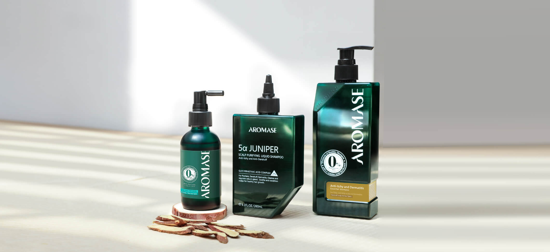 AROMASE-Dermatitis scalp solution