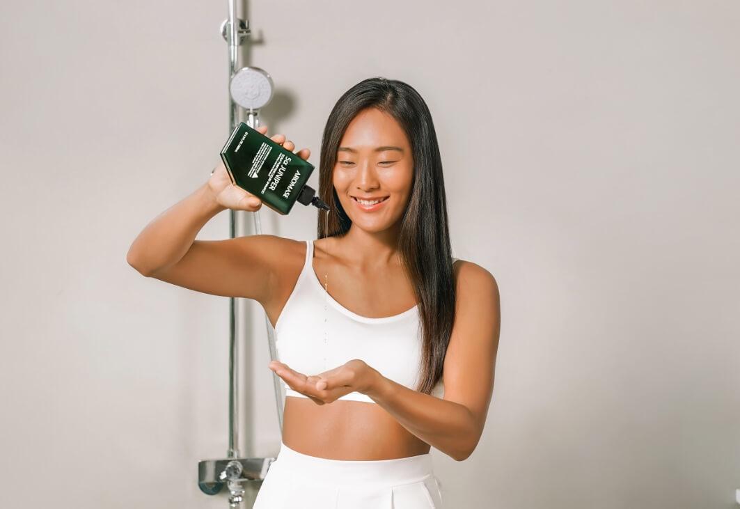 AROMASE-juniper shampoo-indonesia
