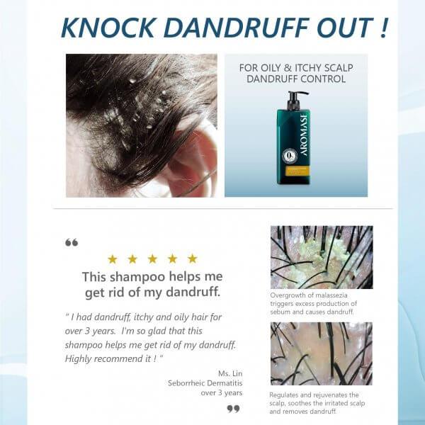 AROMASE-oily dandruff-Dermatitis-scalp shampoo (2)