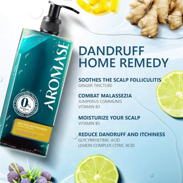 AROMASE-oily dandruff-Dermatitis-scalp shampoo (3)