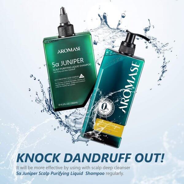 AROMASE-oily dandruff-Dermatitis-scalp shampoo (5)
