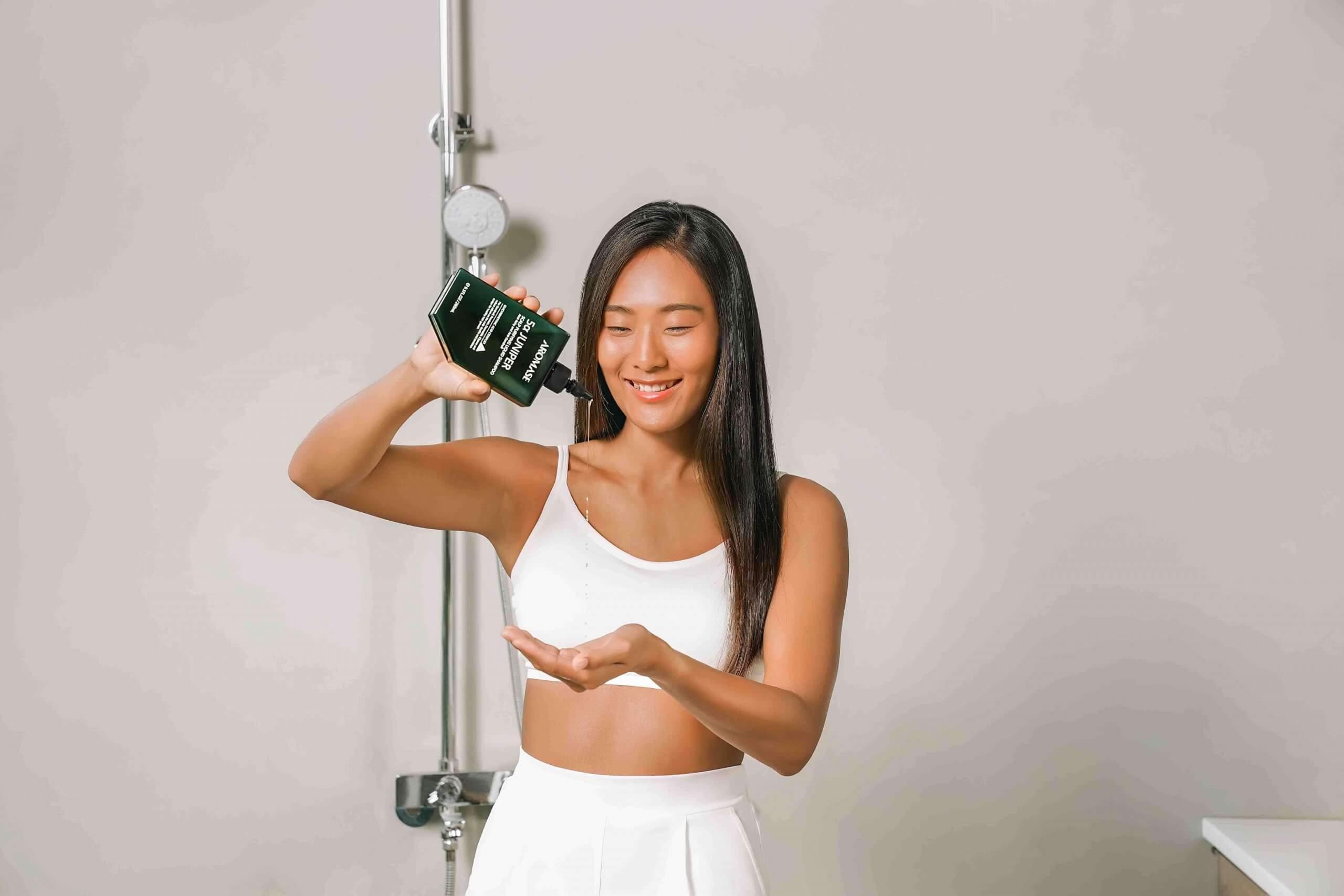 AROMASE-shampoo-shower room (1)