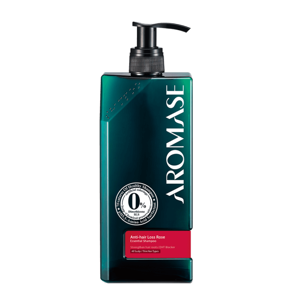 AROMASE Anti-hair Loss Rose Essential Shampoo 400ml