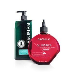 AROMASE-Charming Care Anti Hair Loss Shampoo Kit