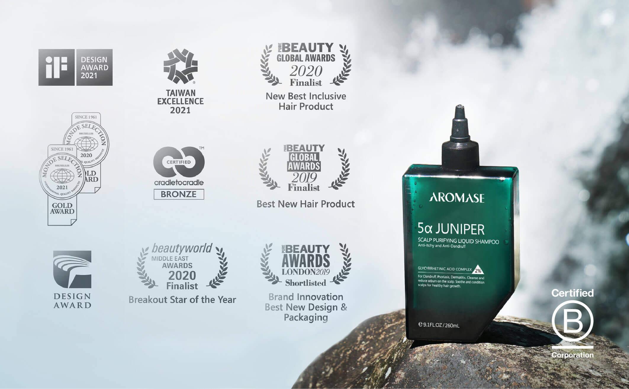 Juniper_aromase award shampoo
